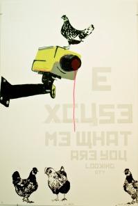 "UV Scree Print 30 X 44"" 2011"