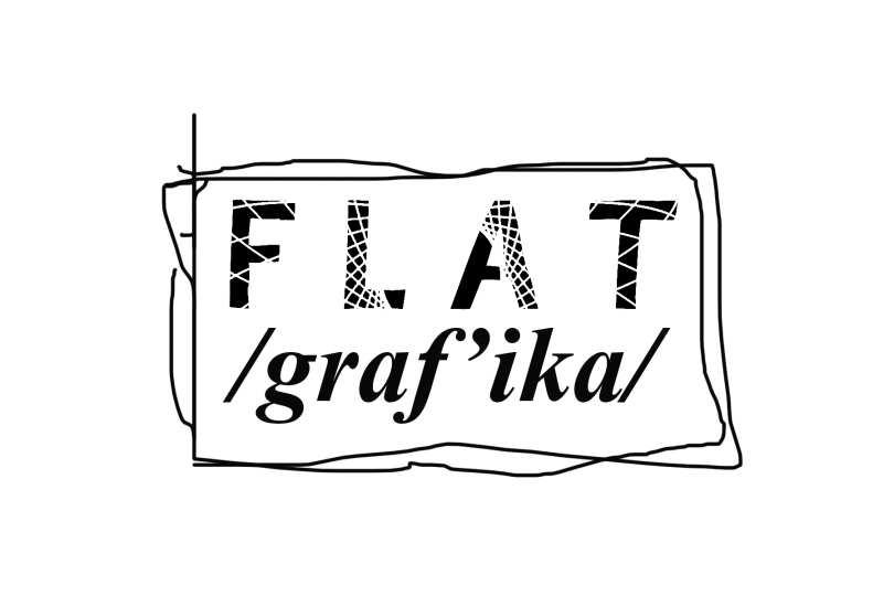 Flatgrafika with border