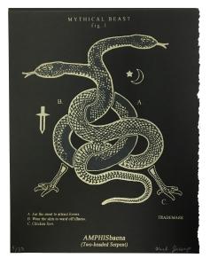 Amphisbaena (Two-headed Serpent) Black Series