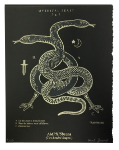 Amphisbaena (Two-headed Serpent) Black Series