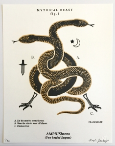 Amphisbaena (Two-headed Serpent) White Series
